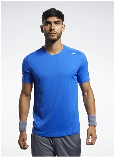 Reebok Reebok Fp9095 Wor Comm Ss Tech Tee T-Shirt Mavi